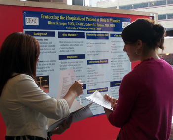 Photo of poster session