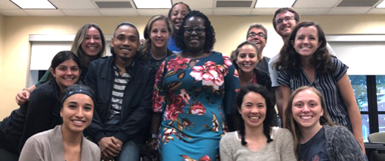 First WW PA Teaching Fellowship Cohort students with Dr. Aieyko