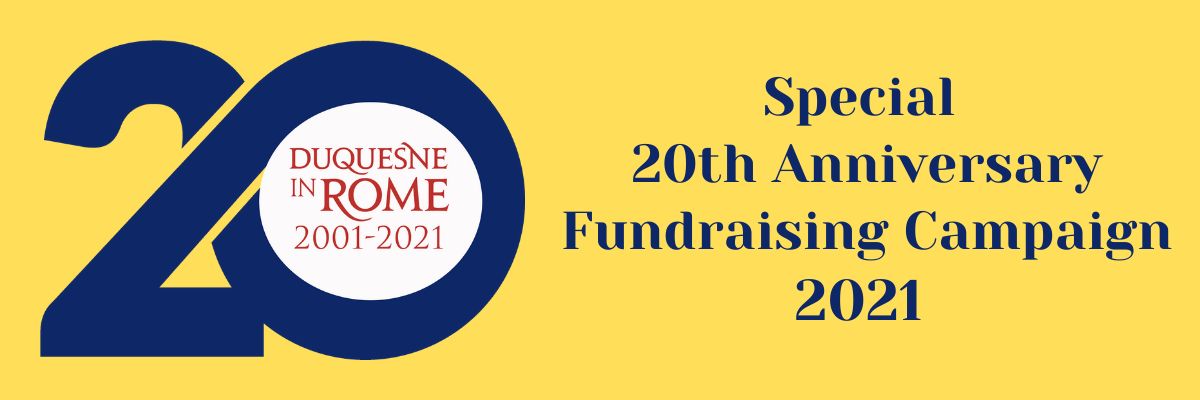 Special 20th Anniversary Fundraising Campaign 2021 with 20th Anniversary Blue Logo